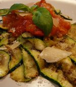 Courgettes au fromage