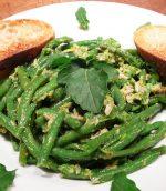 Salade d'haricots à la gremolata