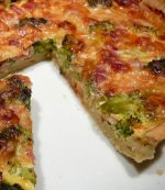 Tarte au jambon et brocolis