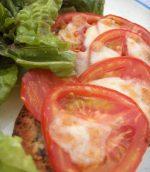 Tartines mozarella et tomates