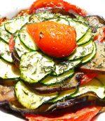 Tian à la viande et aux légumes