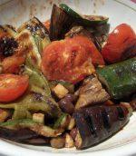 Légumes grillés au vinaigre balsamique