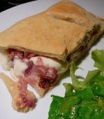 Fougasse jambon mozzarella