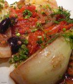 Fenouil rôti aux olives