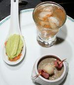 Crème de lentilles et sa brochette gourmande