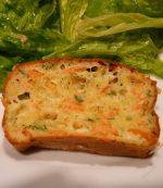 Cake au saumon et mozarelle