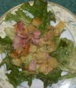 Salade aux Ravioles du Dauphiné