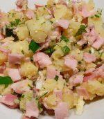 Salade de pommes de terre au jambon