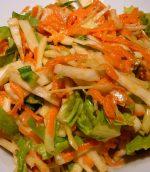 Salade croquante au chou