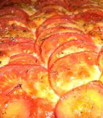 Tarte aux tomates et à la mozarella