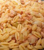 Pâtes fenouil et thon