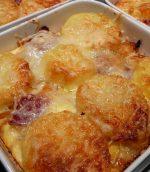 Gratin de pommes de terre charcutière