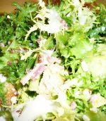Salade de lardons croutons
