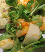 Salade mâche, endive