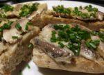Tartines de sardines au citron